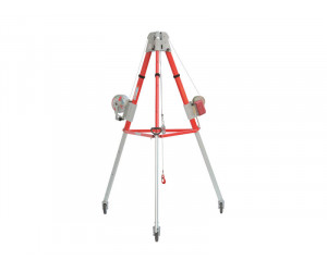 mobile device-with-three-feet-for-lowering-and-lifting-on-wheels-tripod-4